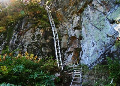 焼岳上高地側登山道 冬期間通行止めについて